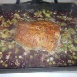 Cranberry Glazed Roast Pork Recipe