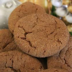 Grandma's Gingersnap Cookies Recipe