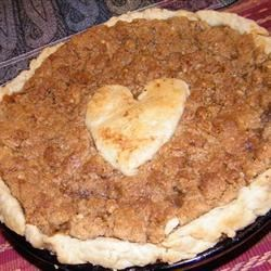 This was a GREAT pie! Use tart apples like Granny Smiths, not mealy Red Delicious!