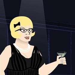 Lisa starring in Mad Men