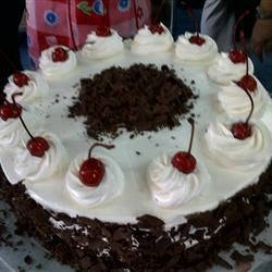 Black Forest Chocolate Cake Recipe