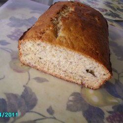 Almost No Fat Banana Bread Recipe