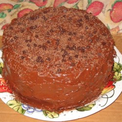 My version of Sandy's chocolate cake