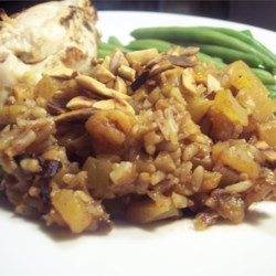 Pumpkin Rice with Apricots Recipe
