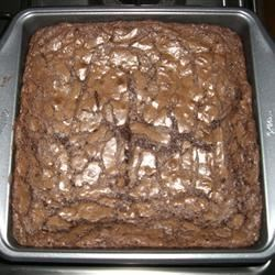 High Altitude Deep Dish Brownies Recipe