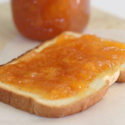 spiked peach jam with ginger printer friendly