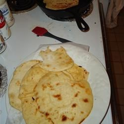 Home MAde Flour Tortillas!!