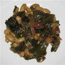 Collard Greens and Beans