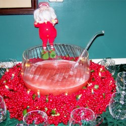 Luscious Slush Punch Christmas