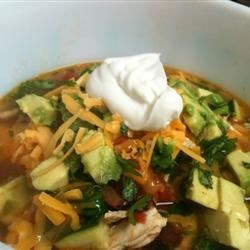 Tortilla and Bean Soup Recipe