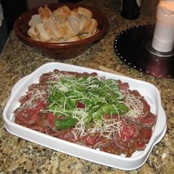 Painted Chef's Classic Beef Carpaccio