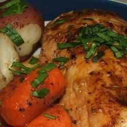 Mom's Paprika Chicken with Potatoes Recipe