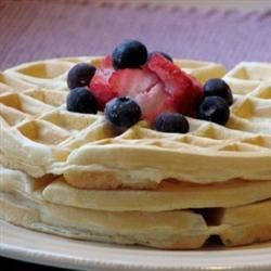 Mom's Best Waffles Recipe