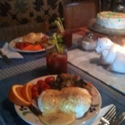 Eggs Benedict on Easter morning