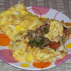 three egg omelet photos