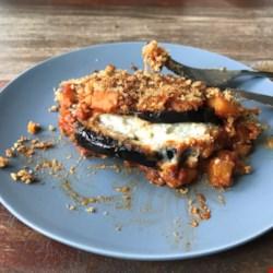 Eggplant Parmesan Casserole