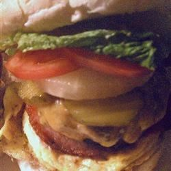 Photo of Aussie Works Burger by SuzAnne Smith