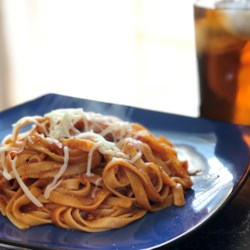 chef johns spaghetti with red clam sauce printer friendly
