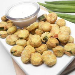 Air Fryer Fried Okra
