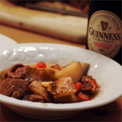 Irish Beef Stew with Guinness(R) Beer Recipe