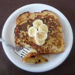 Invisible Banana French Toast