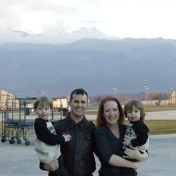 The Carsons - Aviano AB, Italy - November '10