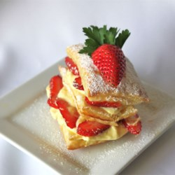 Strawberry Napoleons Recipe