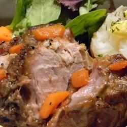 Slow Cooker Cider Pork Roast