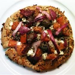 Greek Pita Pizza