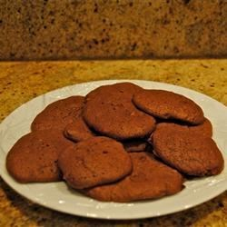 Chocolate Sour Cream Cookies Recipe