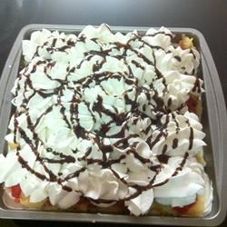 Banana Split Cake IV Recipe
