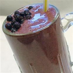 Purple Monstrosity Fruit Smoothie