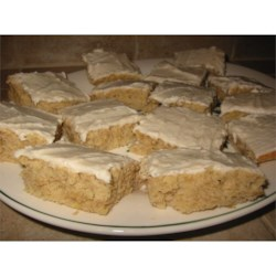 Banana Bars Recipe