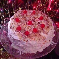 Photo of Pina Colada Cake II by ANGELADY41