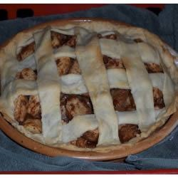 Apple Pie with Flaky Crust