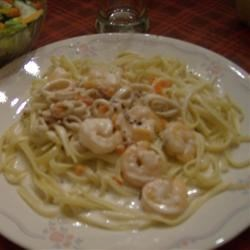 Calamari in a Creamy White Wine Sauce Recipe