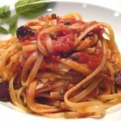Photo of Pasta Puttanesca by STACEY15