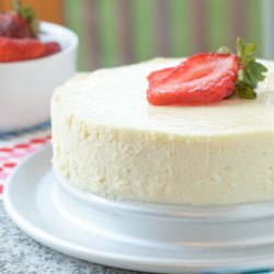 Low-Carb Sugar-Free Instant Pot(R) Cheesecake