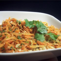 Gujarati Carrot and Peanut Salad Recipe