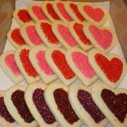 popes valentine cookies