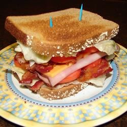 Image of Amy's Triple Decker Turkey Bacon Sandwich, AllRecipes