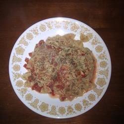 Tomato Brie Bow Tie Pasta Recipe