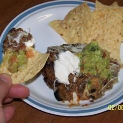 Photo of Ruthann's Beefy Bean Dip by rag
