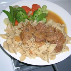 Cindy's Beef Tips Recipe