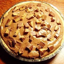 Double Layer Chocolate PB Pie