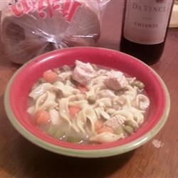 Grilled Chicken Noodle Soup Recipe