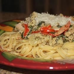 Photo of Pheasant Pesto Pasta by Little Miss Higgins