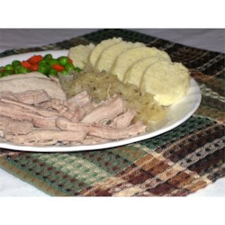Slow Cooker Lancaster County Pork and Sauerkraut