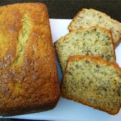 Roasted Pecan Banana Bread Loaves Recipe