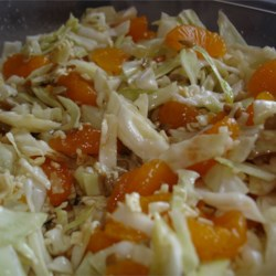 Ramen Cabbage Salad (with Mandarin Oranges)